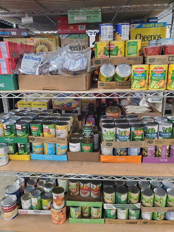 Hilliard Food Pantry Donation